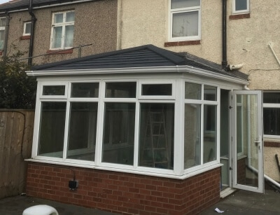 Edwardian Style Guardian Warm Roof Installation in Sunderland, Tyne and Wear