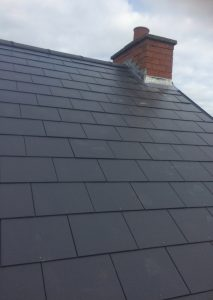 Whitley Bay Slate Roof Installation