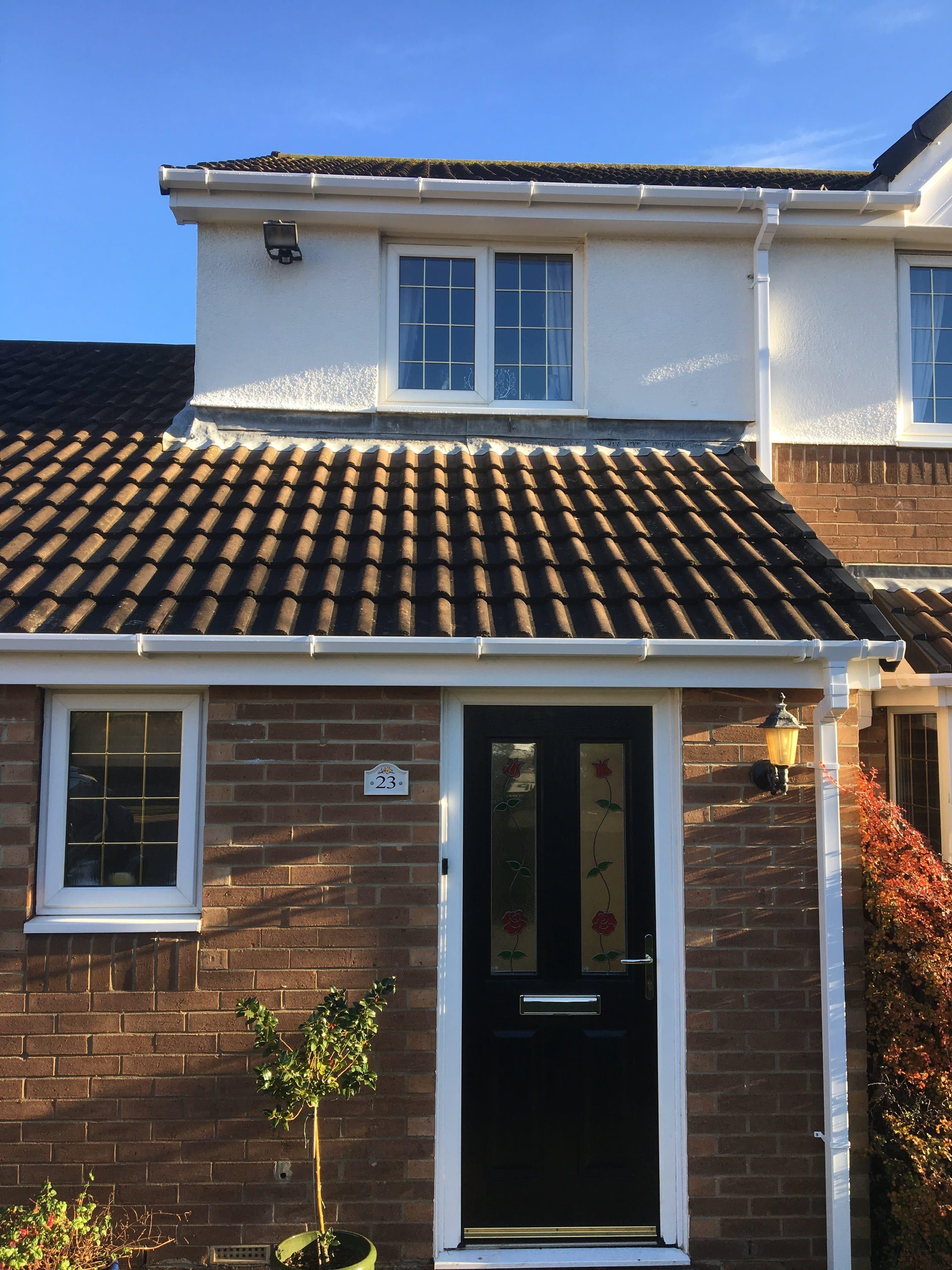 white roofline repacement stanhope county durham