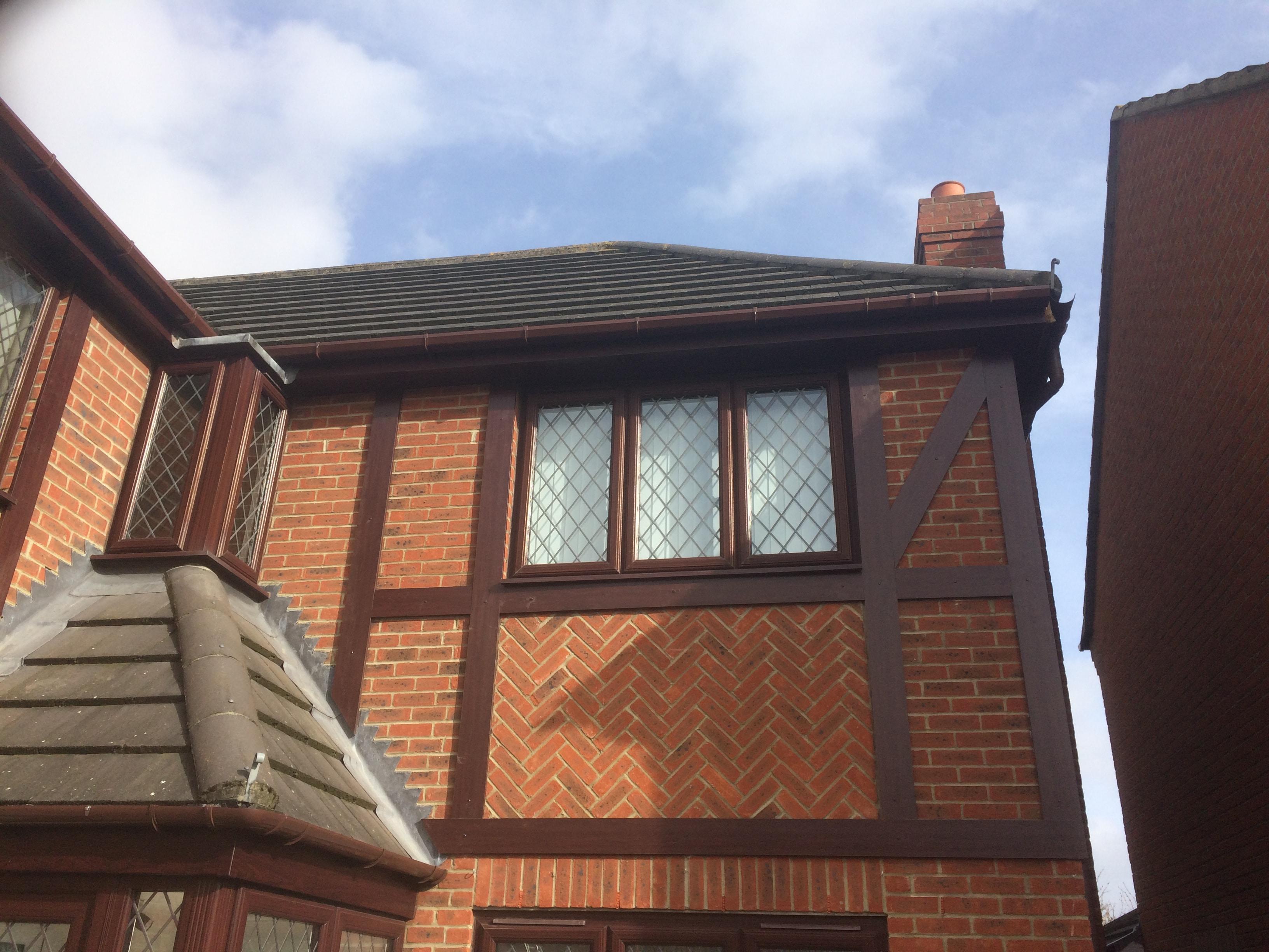 rosewood guttering and fascia roofline cramlington