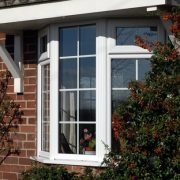 White uPVC REHAU Windows